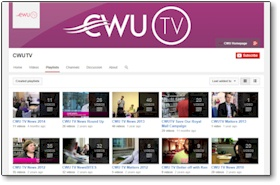 CWUTV on YouTube