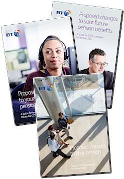 BT Pension Review documentation